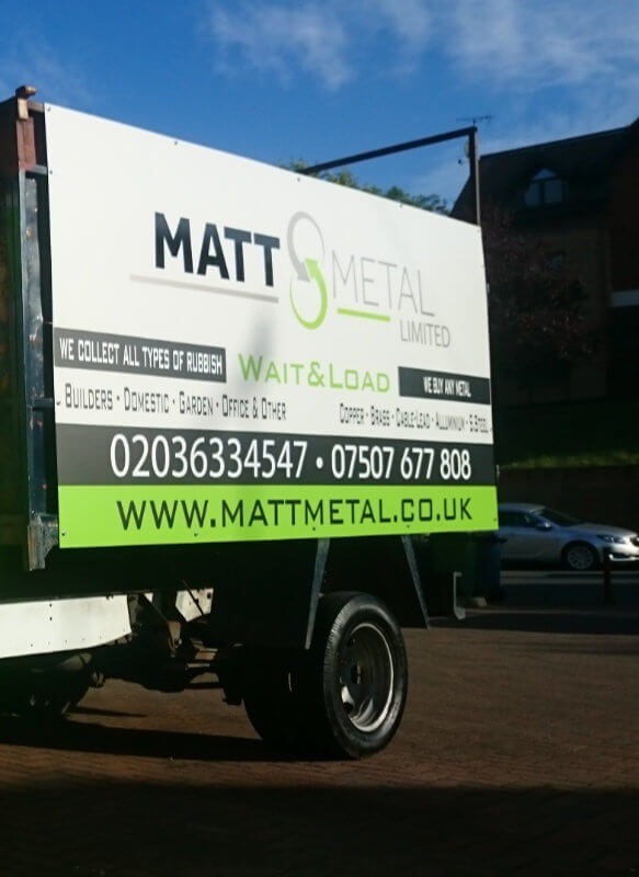 Scrap Metal Collection Croydon