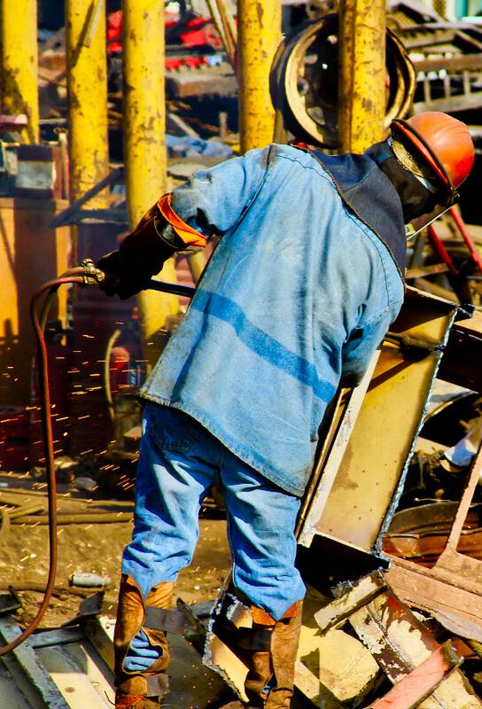 iron scrap recycling